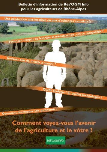 Bulletin agriculteurs - 2013 - Rés'OGM info