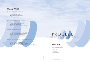 Image Prospekt - PROCEDE
