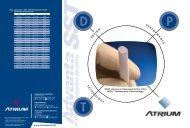 Flyer RX Brochure 2 - Atrium Medical Corporation