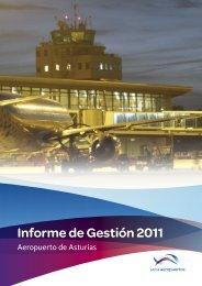 Informe de gestión 2011 (PDF, 1,22 Mb) - Aena Aeropuertos