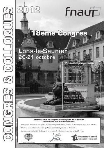 18ème Congrès de la FNAUT - amutc