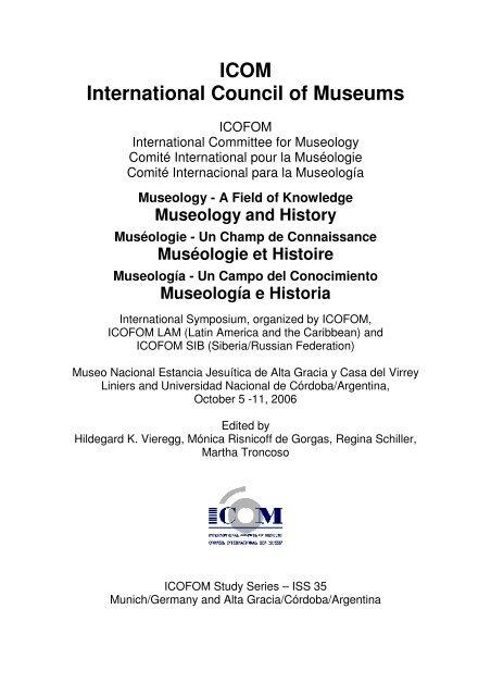 Icom International Council Of Museums The International