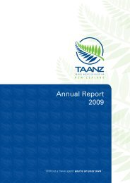 2009 Annual Report - TAANZ