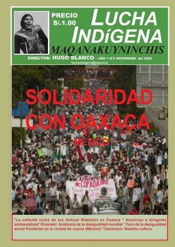 Lucha Indígena No. 8 PDF