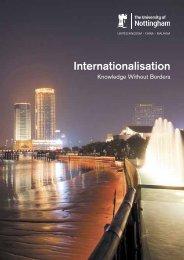 Internationalisation Knowledge Without Borders - The University of ...