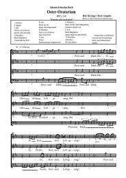 Oster-Oratorium - Hausmusik