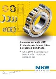 Rodamientos de una hilera de rodillos cilíndricos - NKE Austria GmbH