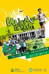 Guide for Newcomers 2012/13 - Cedars - The University of Hong Kong