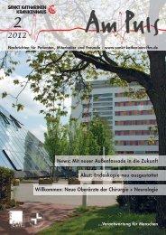haus – zur Gesundung unentbehrlich - Sankt Katharinen-Krankenhaus