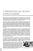 Historique de l'IRECUS - Université de Sherbrooke - Page 6