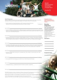 Download Multi Playscape Systems Check List - Wicksteed Leisure ...