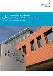 Qualitätsbericht 2008 - EvB Klinikum