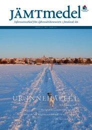 Jämtmedel nr 1 2012.pdf - Jämtlands läns landsting