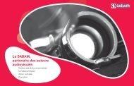 Brochure La SABAM partenaire des auteurs audiovisuels
