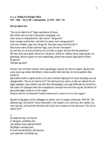 3. s. e. Hellig Tre Konger 2012 747 –302 - 10 // 28 – salmepræd ...