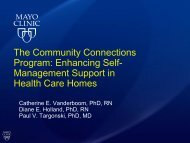 Management Support in Health Care Homes - National Rural Health ...