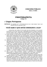 FISIOTERAPEUTA - Fundep