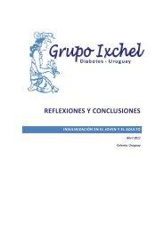 REFLEXIONES Y CONCLUSIONES - Grupo Ixchel