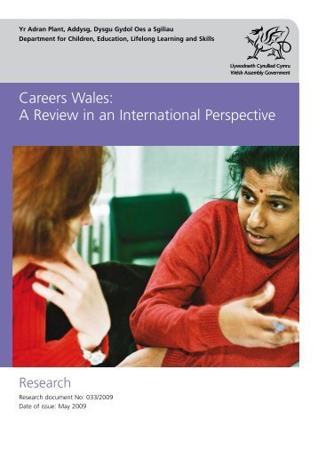 Careers Wales: A Review in an International Perspective