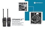 CP200XLSTM - Motorola Solutions