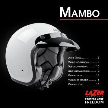 USER'S GUIDE MANUEL D'UTILISATION ... - Lazer Helmets