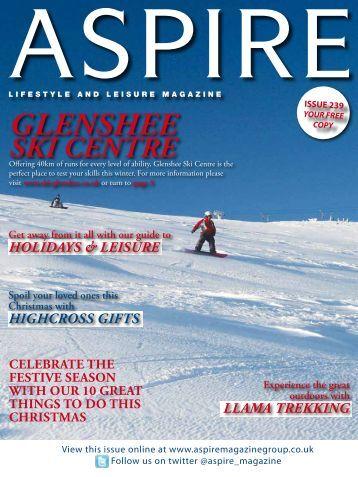 Glenshee Ski Centre - Aspire Magazine