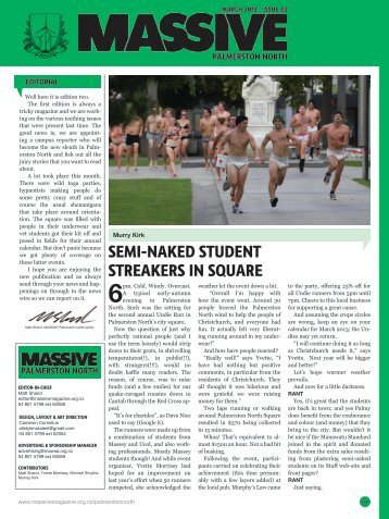 semi-naked student streakers in souare - Massive Magazine