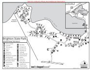 Brighton State Park Map & Guide - Vermont State Parks