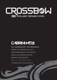 2011 CROSSBOW IDS™ KITE USER MANUAL ... - Cabrinha