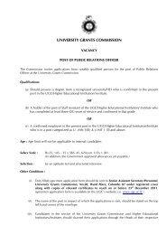 Information .pdf - University Grants Commission - Sri Lanka