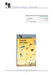 Cuentos para jugar.pdf - Alfaguara Infantil