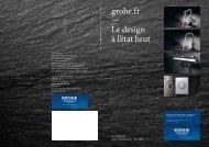 grohe.fr — Le design à l'état brut - GROHE - Robinetteries