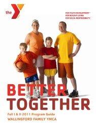 Wallingford YMCA Fall 2011 Program Guide.pdf - The Peoples Press