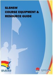 Course Equipment & Resource Guide - Surf Life Saving - Sydney ...