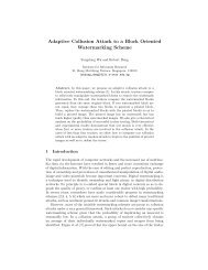 Adaptive Collusion Attack to a Block Oriented ... - CiteSeerX