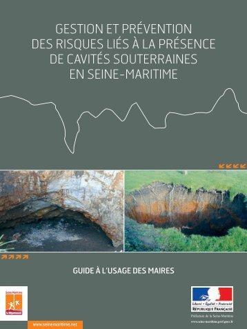 Guide des cavités souterraines en Seine-Maritime - Département de ...