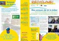 Réduisons nos déchets Des erreurs de tri à éviter - Montauban.com