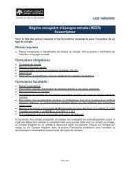 (REER) Souscripteur - Courtage à escompte Banque Laurentienne