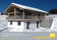 Le Bleusy, Nendaz, Four Valleys - Ski chalets for sale