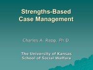 Strengths-Based Case Management - swphost.com
