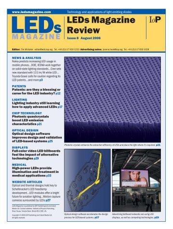 LEDs Magazine Review - Beriled