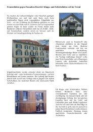 Fensterläden gegen Fassaden-Einerlei: Klapp- und Schiebeläden ...