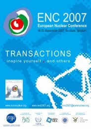 download ENC 2007 Transactions - European Nuclear Society