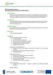 Autoryzacja Techniczna Comarch ERP Optima