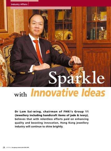 Industry Affairs - Sparkle with Innovative Ideas
