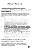 2008 Michigan faMily fish consuMption guide - Tittabawassee River ... - Page 7