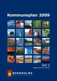Del 2 Kommuneplan 2009 - Bornholms Regionskommune