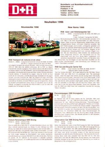 Page 1 Modellbahn und Modelibahnelelttronilt Sohaeherstr. 21 ...