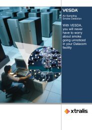 VESDA Air Sampling Smoke Detection Catalogue - Systems ...