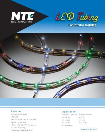 LED Tubing - NTE Electronics